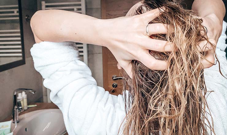 Haarkur mit Aloe Vera Gel und Olivenöl